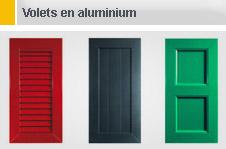 Volets en aluminium
